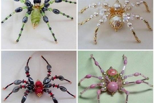 DIY Fabulous Bead Spider