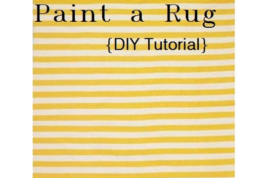 Paint a Rug in 5 Steps