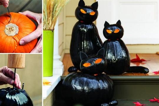 How to Make Black Cat Lanterns