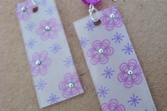 Tutorial Tuesday Stamped Earrings Blog