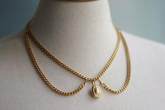[DIY] chain necklace collar