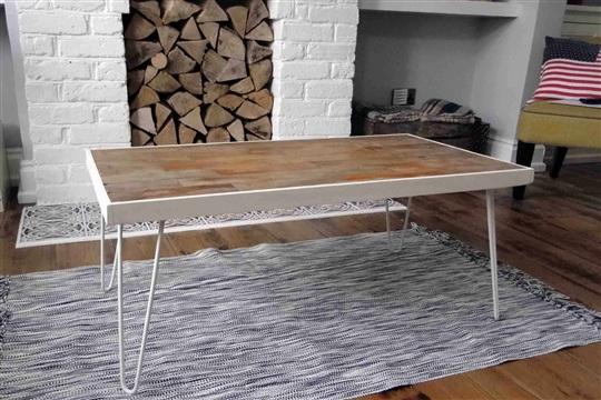 Reclaimed Floorboard Coffee Table