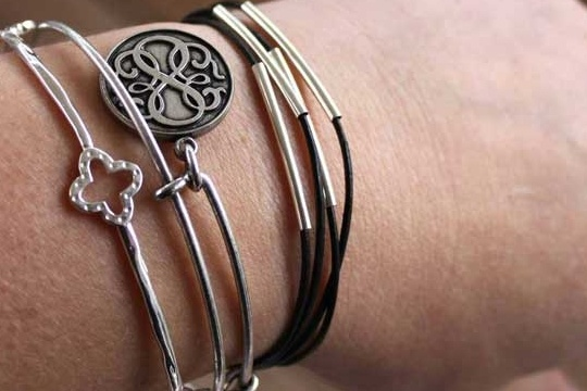 DIY tube wrap bracelet