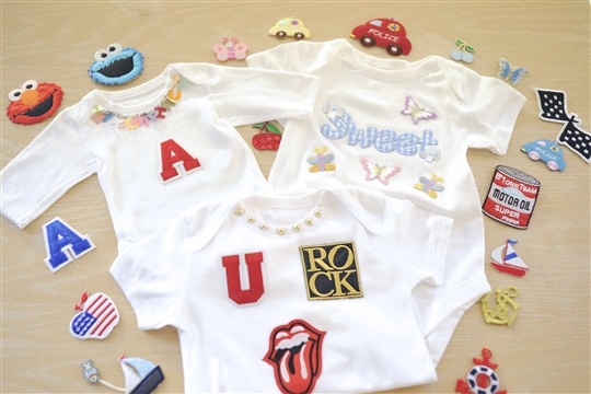 Baby Shower Idea Onesies Decorating!