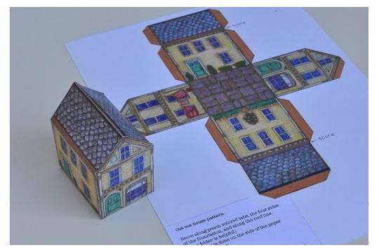 Little House Template