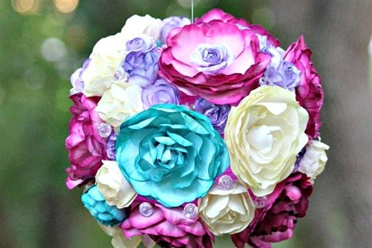 DIY Lantern Tutorial Floral Party Lanterns