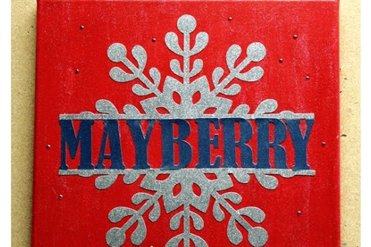 Winter Canvas Create It Simply with Tami Mayberry