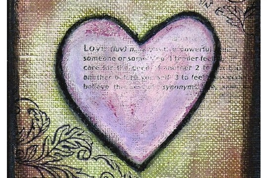 Sweet Heart Painting Tutorial