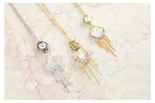 timekeeper necklace diy