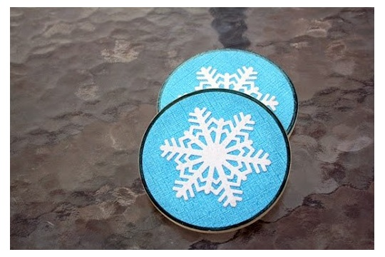 Snowflake Ceramic Coasters Create It Simply with Tami Mayberry
