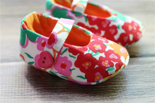 Mary Jane Baby Shoes Pattern