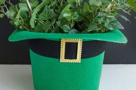 DIY St. Patrick's Day Centerpiece Gift