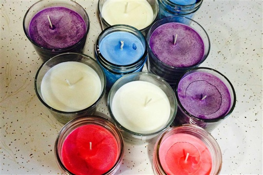 Homemade Soy Candle for Under $2 Home, DIY, Organization