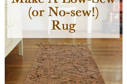 How to Make a Rug