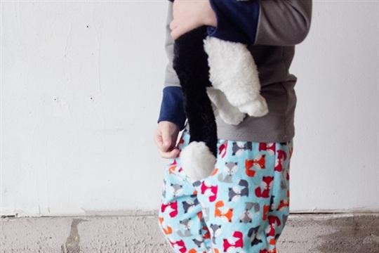 FOX PJS! Boys Pajama Pants Pattern + Applique