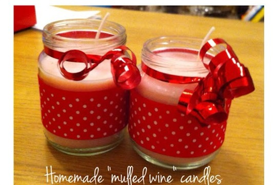How to Make Mulled Wine Scented Christmas Candles by Becster
