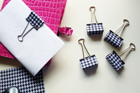 Coordinating Office Supplies Cool Clips DIY