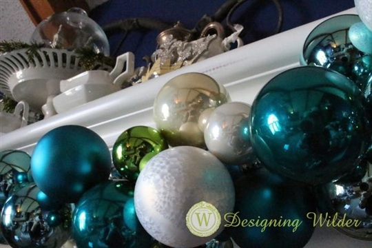 Christmas Ornament Garland (aka