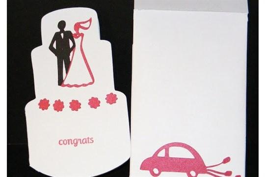 Wedding Card & Envelope Wild Card Cartridge