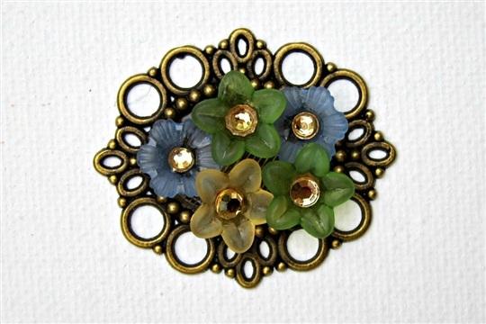 DIY Flower Garden Pendant