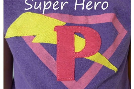 Super Hero Shirt and Cape Easy Kids' Gift