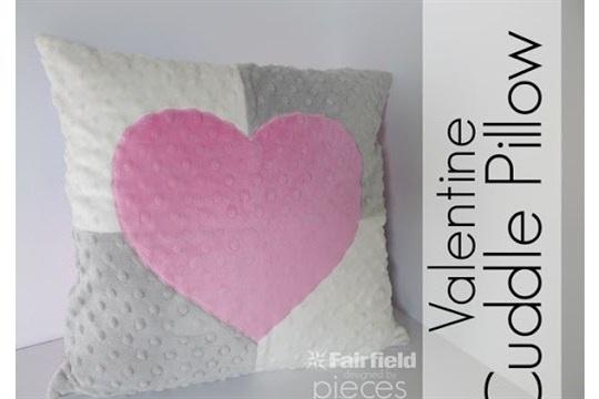 Valentine Cuddle Pillow