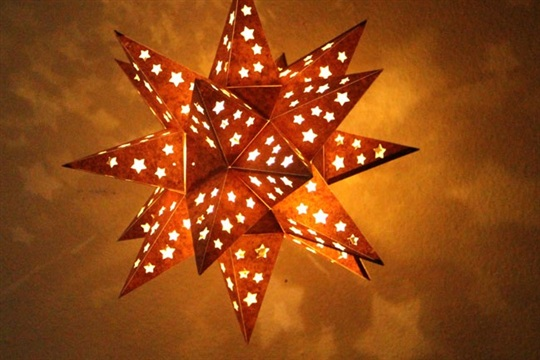 Make Star Lantern - A Piece Of Rainbow
