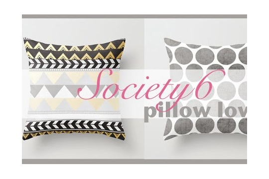 This Little House of Mine Society6 Pillow Love