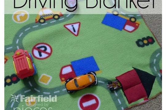 15 Minute Driving Blanket Tutorial