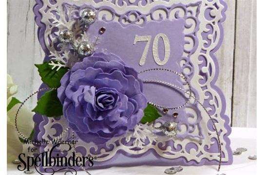 FS404 70th birthday card