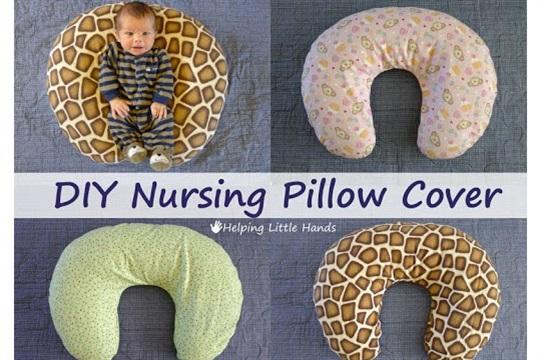 DIY Nursing Pillow Cover