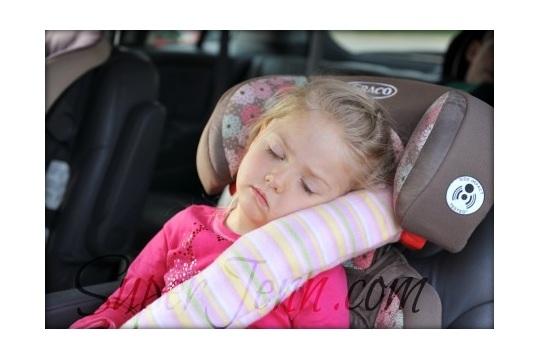 Countdown to Disney: Seatbelt Pillows for the Trek | Super Jenn