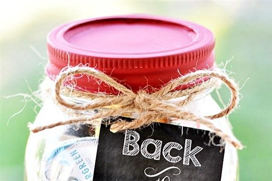 Teacher Kit: Emergency Mason Jar Kit With Free Printable
