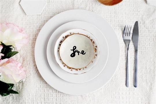 DIY Tutorial Ring Dish