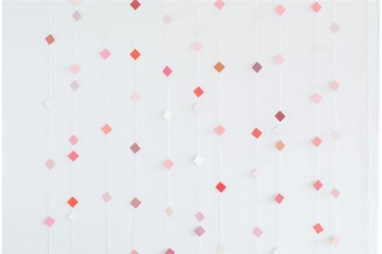DIY Geometric Paper Backdrop