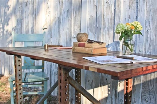 Transformed Scaffolding to Table