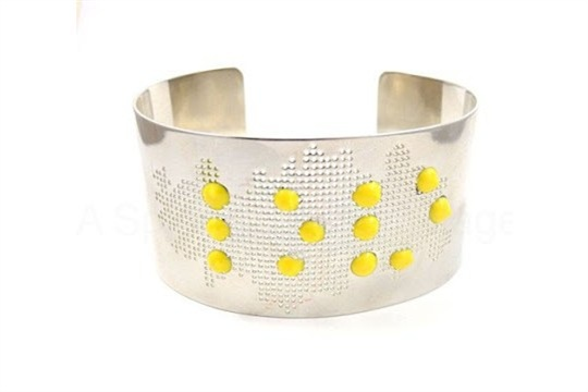 DIY Braille Love Cuff Bracelet