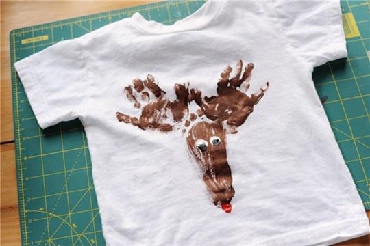 Rust & Sunshine Reindeer T Shirt