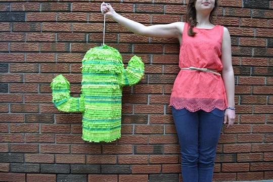 DIY Cactus Piñata