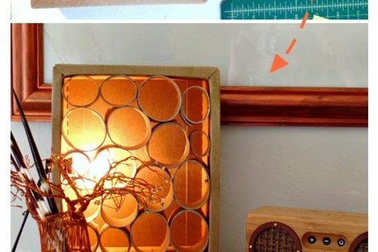 Upcycle Light up cardboard!