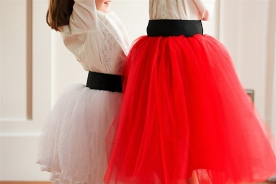 4c70f174cb DIY Tulle Skirt...with Wide Elastic Waist Band - CraftSmile