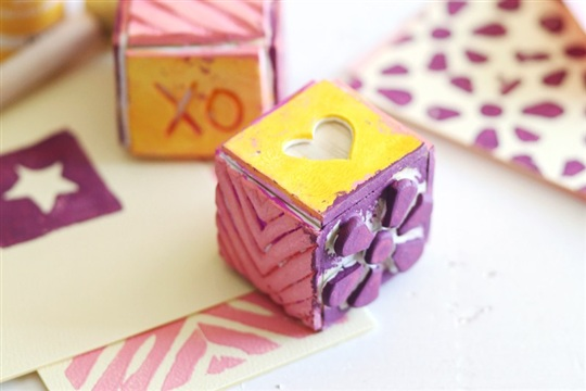 Make Your Own Stamp Cubes