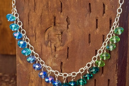 How To Make A Dangling Bead Necklace