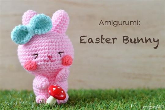 Easter Bunny Free Amigurumi Pattern
