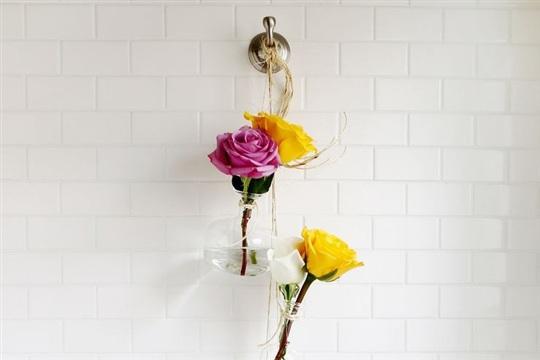 Hanging Vase Display