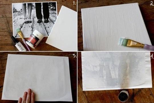 DIY Custom Photo Canvas