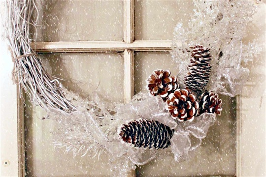 DIY Wreath for Winter