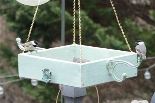 Easy DIY Platform Bird Feeder