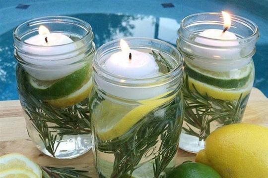 DIY Bug Repellent Summer Mason Jar Luminaries Summer In Jars