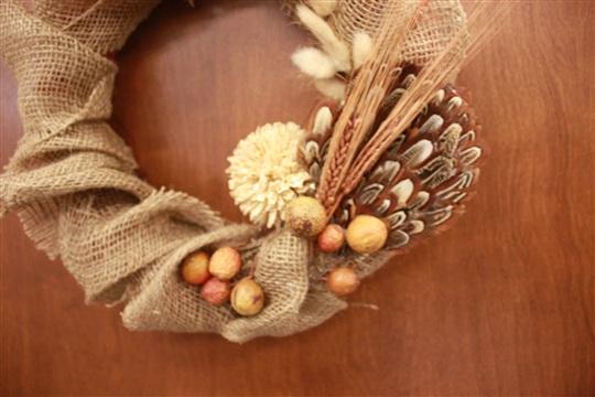 DIY Harvest Wreath